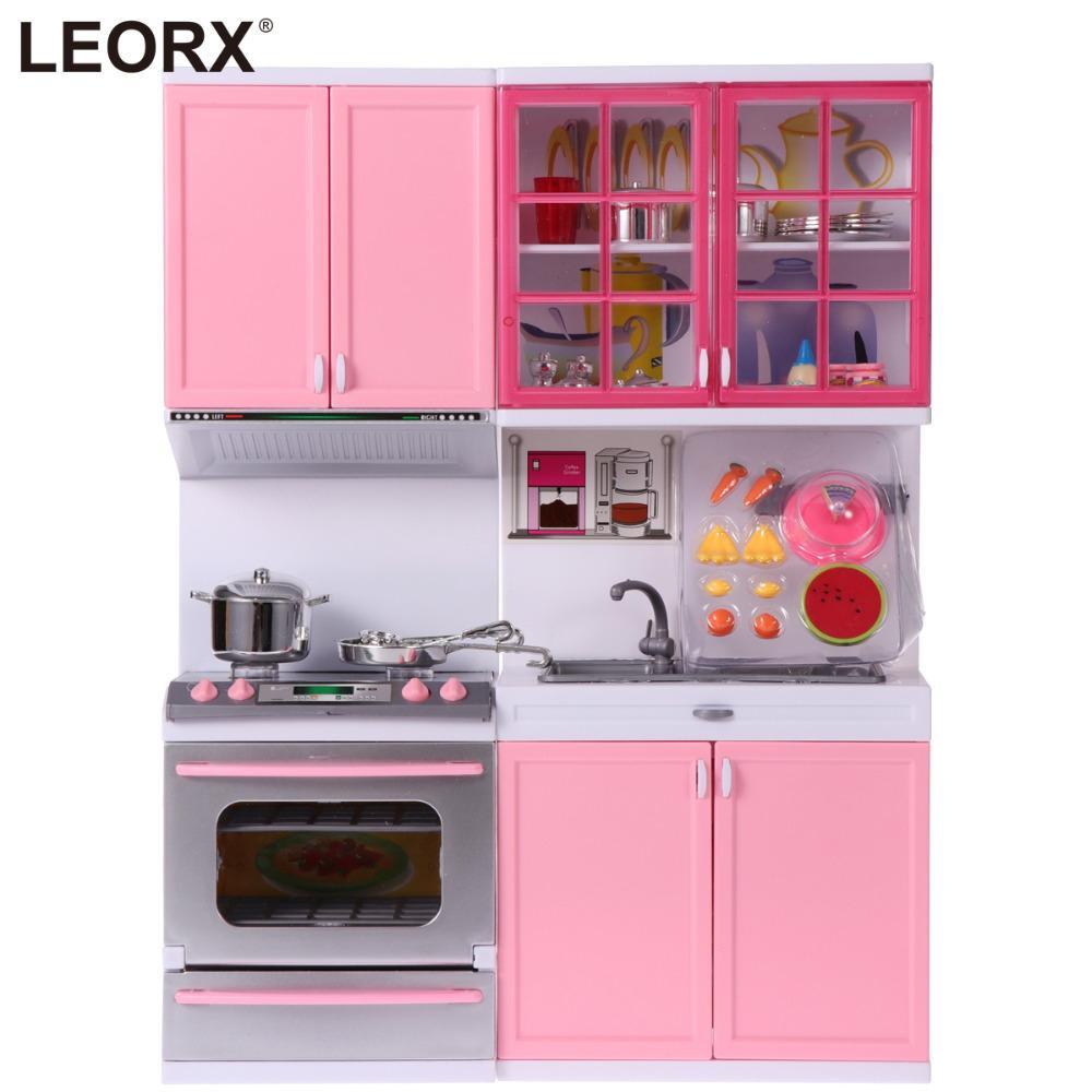 Mini Küche Set Kinder Pretend Play Kochen Werkzeuge Set Kunststoff  Kochgeschirr Topf Pan Zubehör Küche Spielzeug Baby Puzzle Puppe