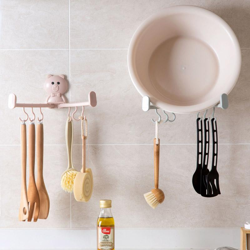 2019 6 hooks household appliances bathroom appliances household rh dhgate com Bedroom Necessities Bathroom Necessities