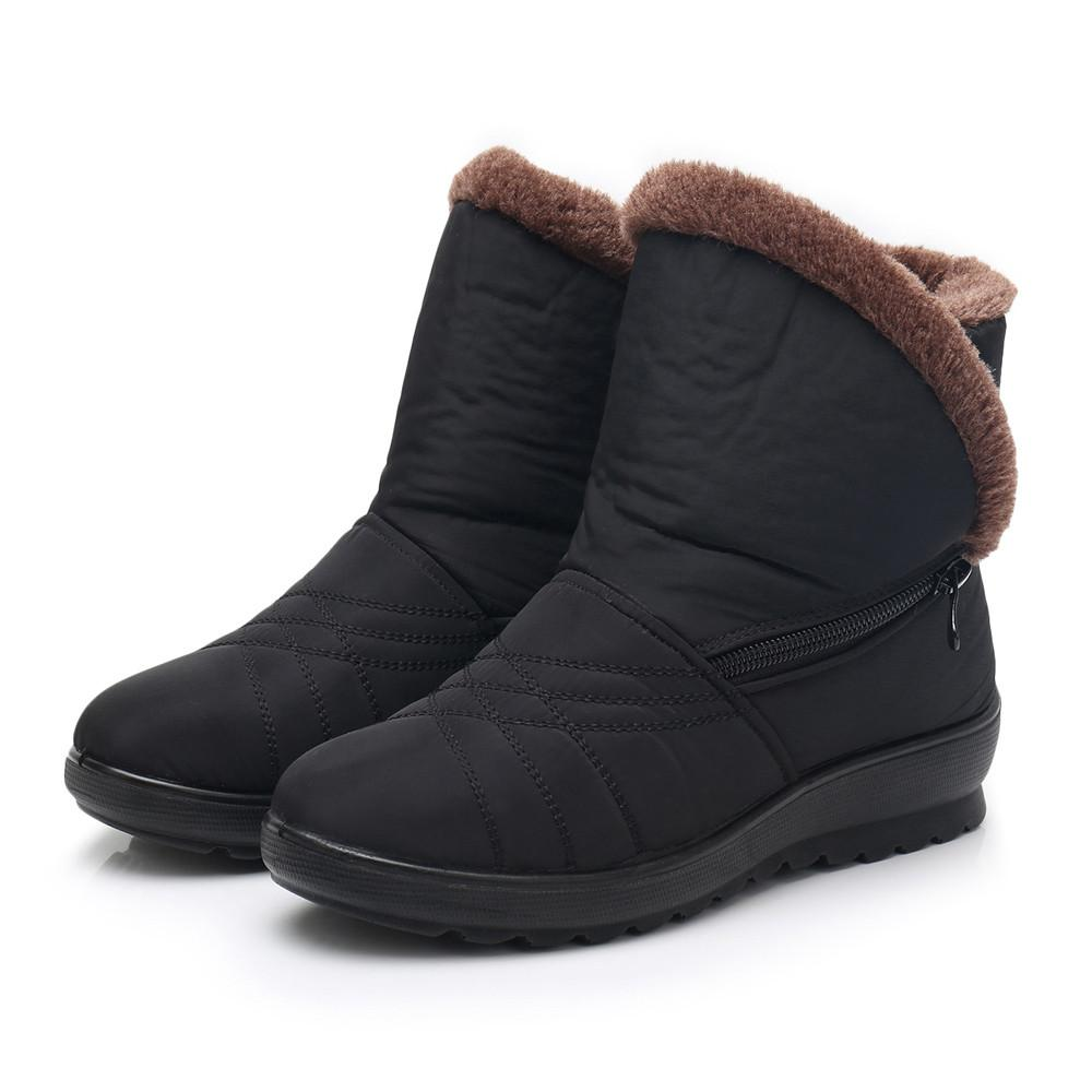 Women S Snow Boots Ladies Winter Waterproof Martin Short Footwear Winter  Warm Shoes Women Snowshoes Chaussures Femme  445 Sexy Shoes Boots Shoes  From ... 43951be8081