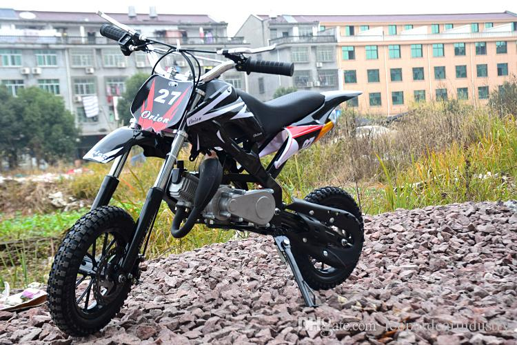 Two-stroke 49cc mini off-road motorcycle small high-speed racing hand start small all-terrain ATV small sports car