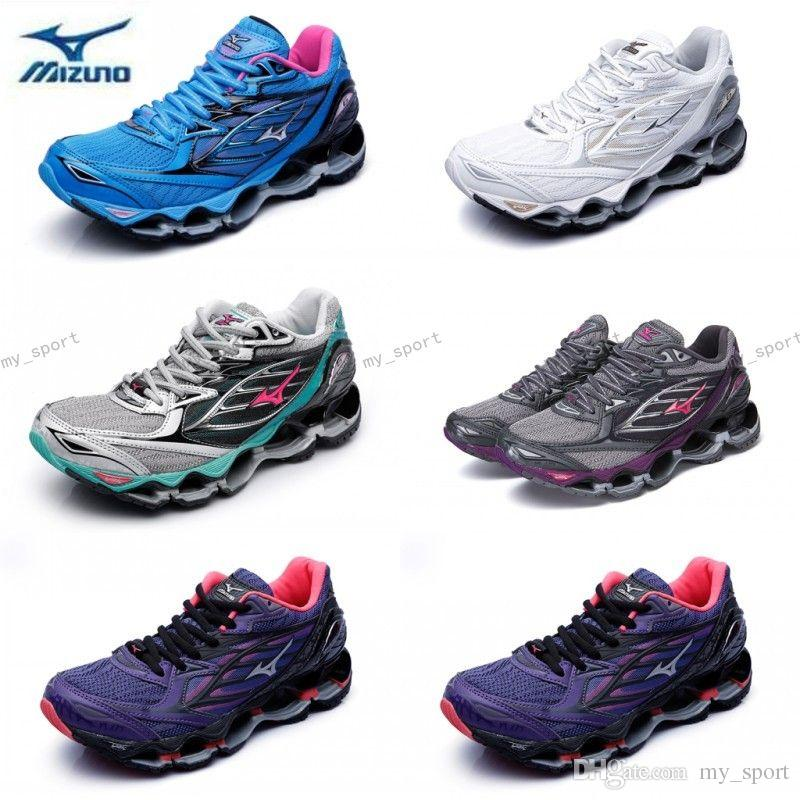 2018 New Arrival MIZUNO WAVE PROPHECY 6 Women Designer Sports Running Shoes  Sneakers Mizunos 6s Casual Mens Trainers Size 36 41 Shoes On Sale Ladies  Running ... 2d41925d4d