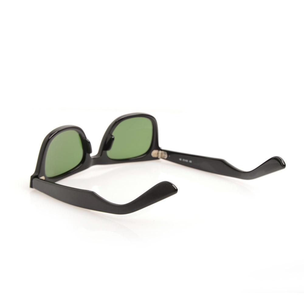 Lunettes de soleil de haute qualité Plank Black Frame Lunettes de soleil charnière métallique Lunettes de soleil pour hommes