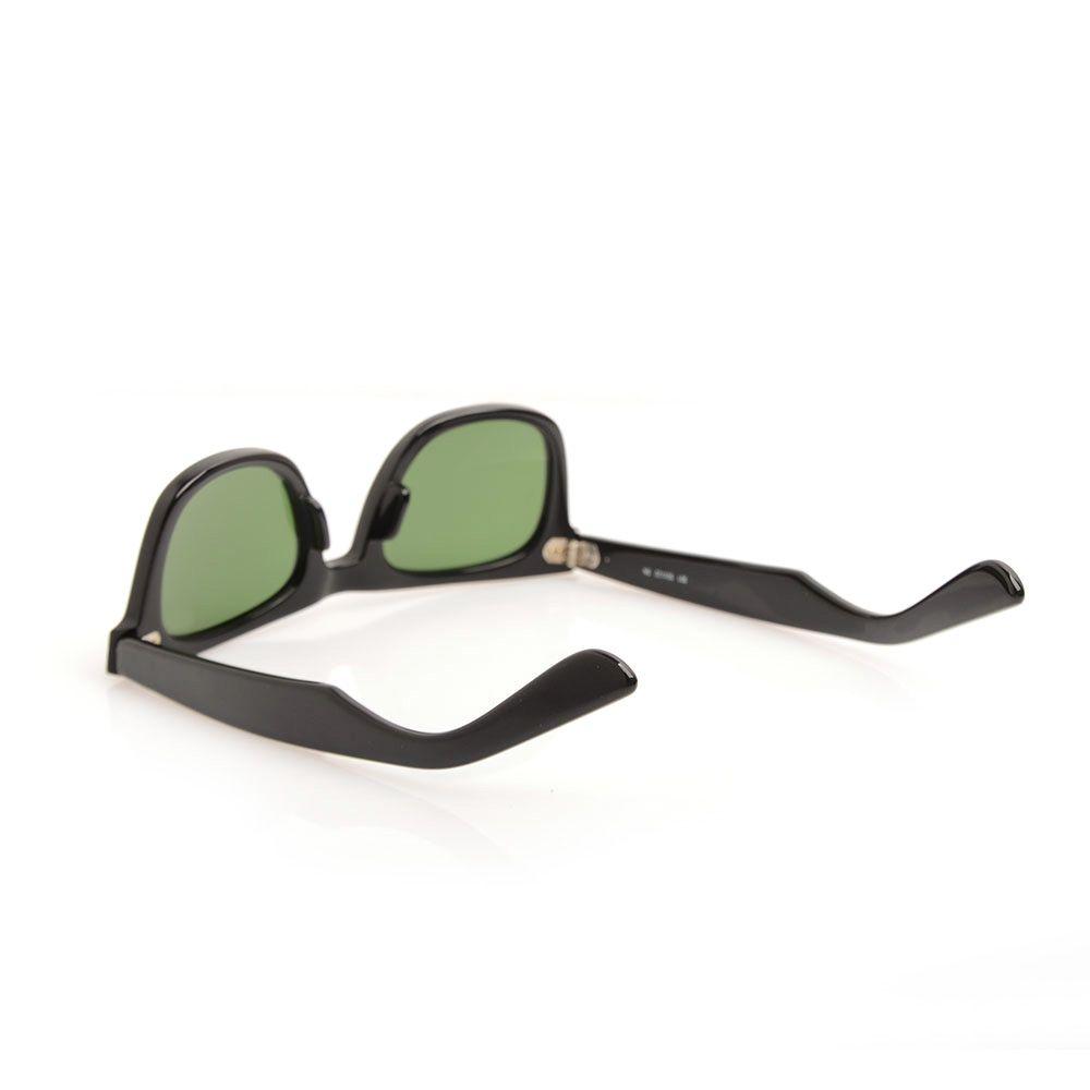 Высокое качество планка солнцезащитные очки черная рамка Зеленый объектив солнцезащитные очки металлический шарнир солнцезащитные очки мужские солнцезащитные очки женские очки унисекс Sun glas