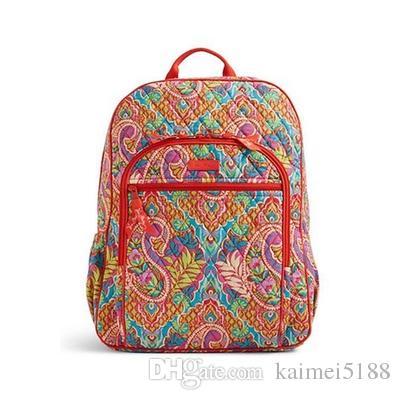 Cotton BACKPACK Bag Campus Laptop Backpack School Bag NWT