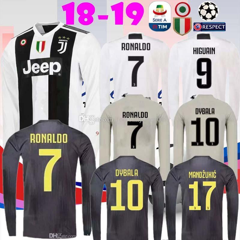 official photos 07b59 d6a0c norway juventus 7 cuadrado home long sleeves soccer club ...