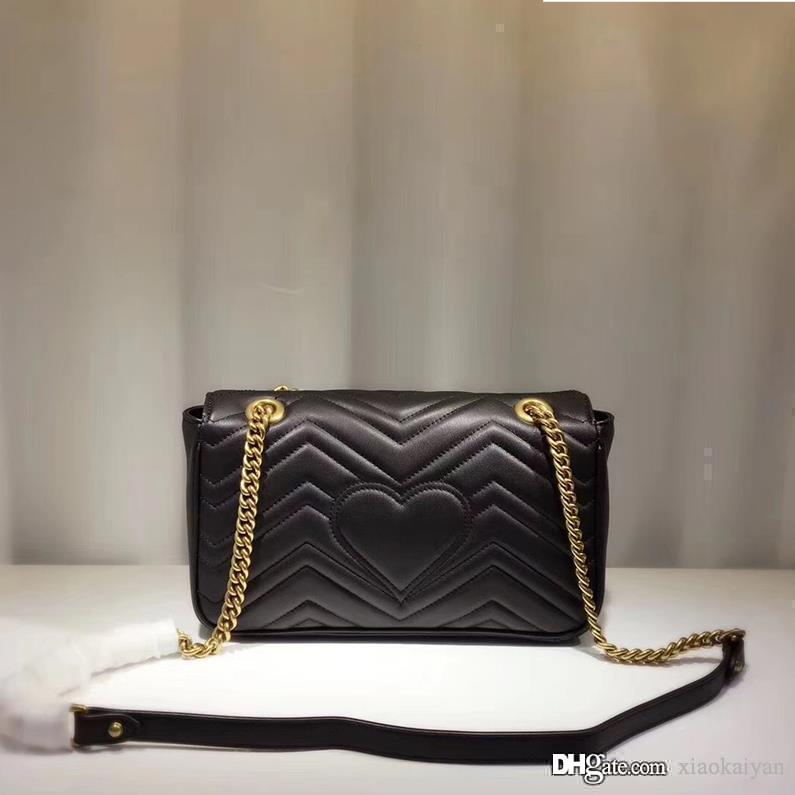 4bca04dc4fad Women Top Designer Handbags Shoulder V Pattern Chain Flap Messenger Bags  Ladies Real Leather Crossbody Bags Girls Fiorelli Handbags Discount Designer  ...