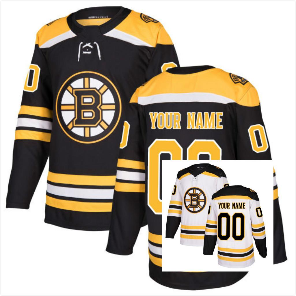 2018 2017 new supplier mens womens kids boston bruins customized any name any number on back white black ice hockey jerseys from probowl 36.72 dhgate.