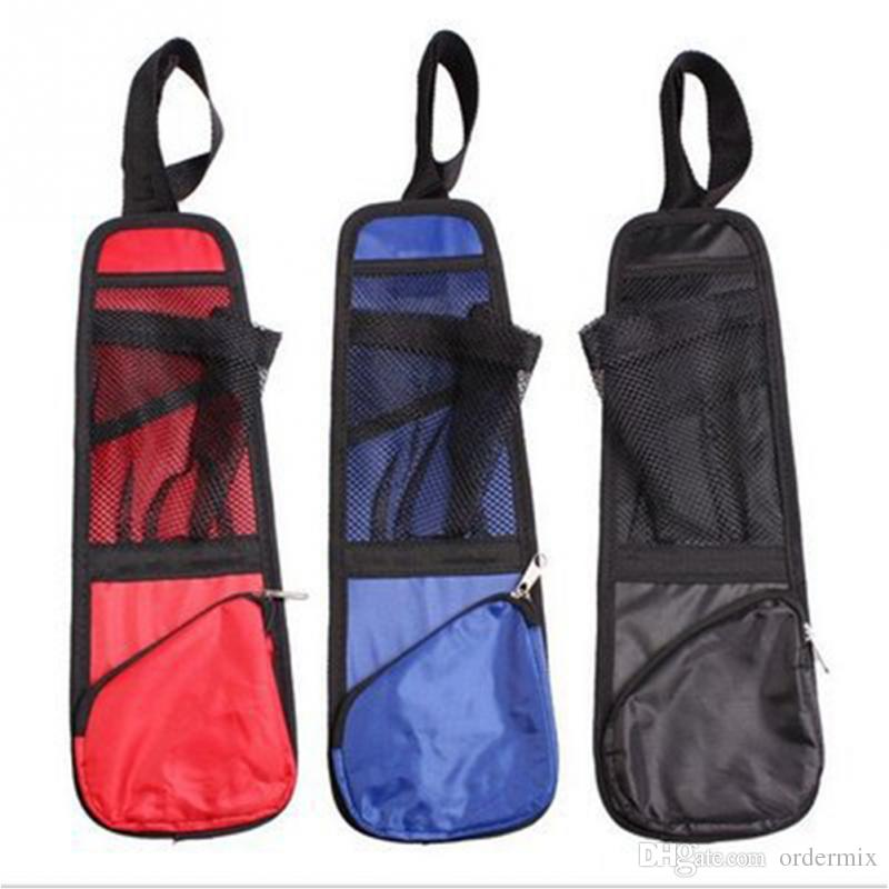 Truck Seat Organizer >> Car Seat Chair Side Multifunction Pockets Storage Bag Gadget Storage