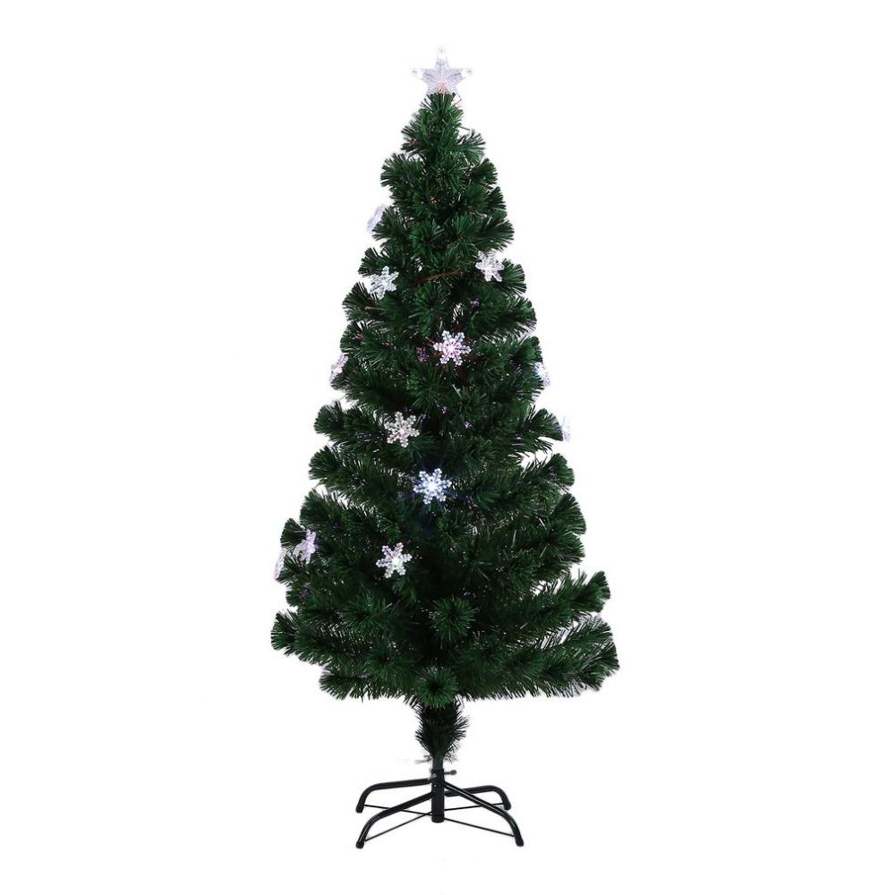 Snowflakes Christmas Tree Decorative Indoor Outdoor Led Color ...