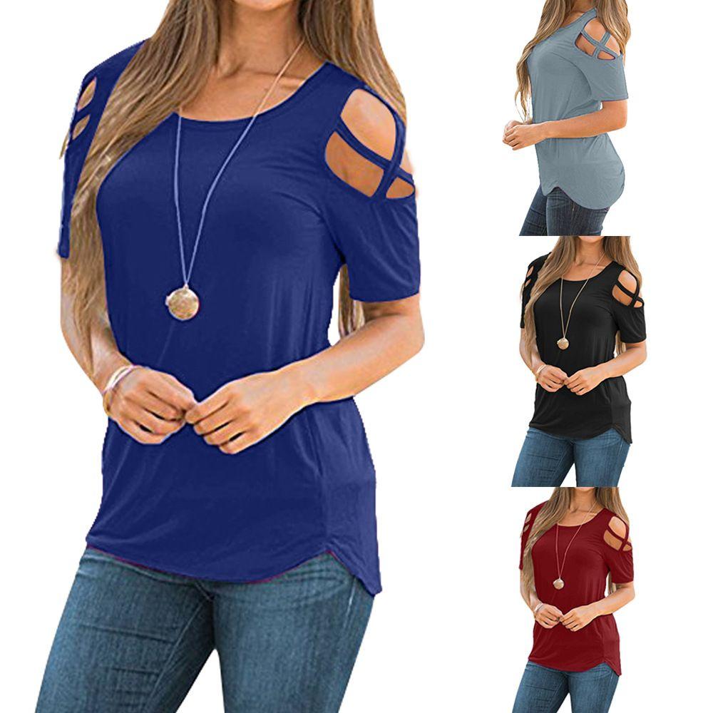 70cf2f73d981e 2018 Slit Sleeve Cold Shoulder Feather Print Women Casual Summer T Shirt  Girl 2016 Tee Tshirt Loose Top T Shirt S 23XL Random Graphic Tees Quirky T  Shirt ...