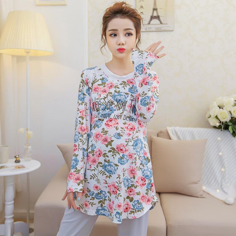 86c77a52fcc Pregnancy Home Clothes Leisure Wear Maternity Women Breastfeeding ...