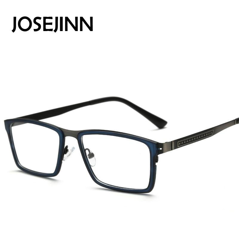 2018 TR90 Men Glasses Rectangle Frame Vintage Optical Brand Myopia ...