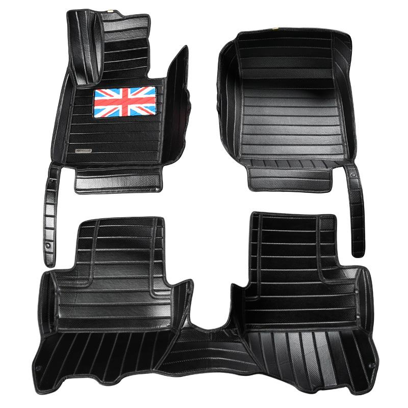 2018 Surround Car Front Rear Floor Mats Waterproof Carpets Cushion