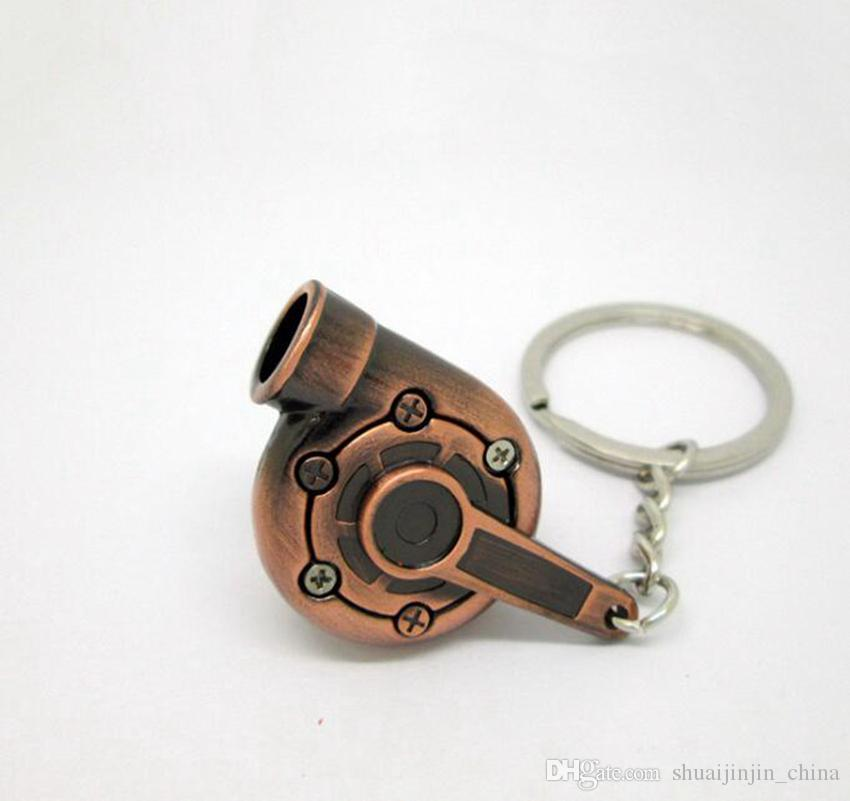 توربو المفاتيح الإبداعية أجزاء السيارات الساخنة نماذج الغزل غونميتال التوربينات الشاحن التربيني مفتاح سلسلة حلقة مفتاح GGA472 50 قطع