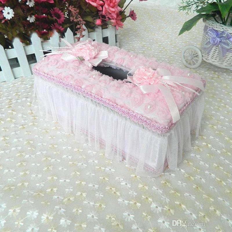 Acheter Vente En Gros Boite A Mouchoirs En Forme De Fleurs Fraiches