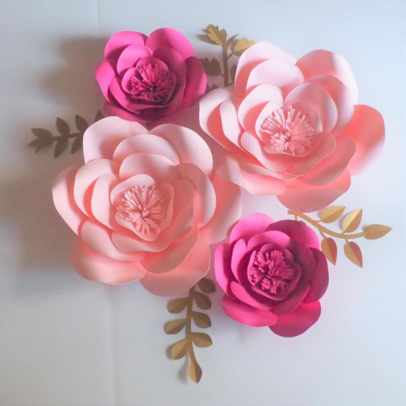2018 2018 artificial handmade giant paper flowers backdrop leaves 2018 2018 artificial handmade giant paper flowers backdrop leaves for event decorations baby nursery baby shower table deco from fivestarshop mightylinksfo
