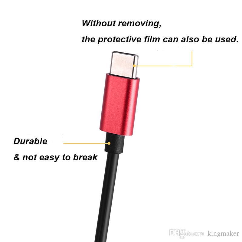 Nouveau design USB Type c Type de câble concentrateur c Chargeur USB Adaptateur de câble Chargeur de batterie Chargeur compatible Chargeur de téléphone intelligent