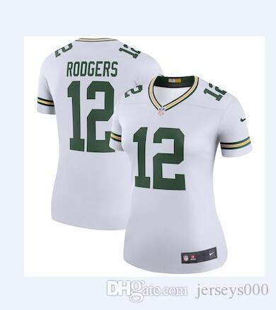 fbba64155 12 Aaron Rodgers Jersey Green Bay Packers Jimmy Graham Bart Starr ...