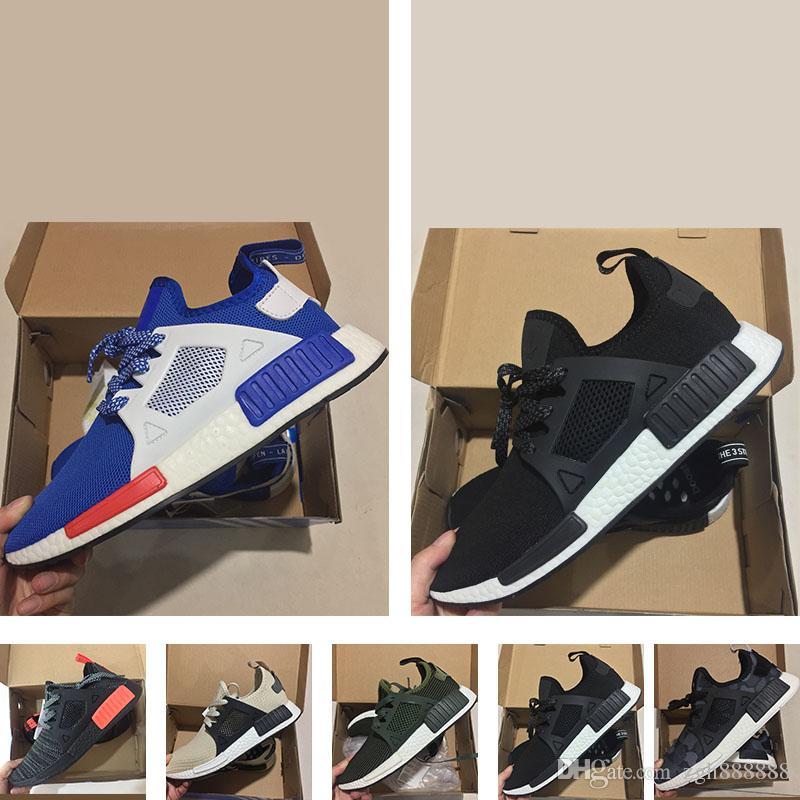 huge selection of 4e555 da0e2 Compre 2018 Original Adidas Originals Hombres NMD XR1 Sneakers Classic PK  Invierno Gris Negro NMD XR1 Zapatos Corrientes Cheap Sneaker Primeknit OG  Zebra ...