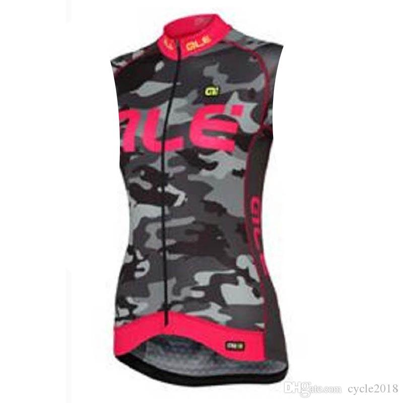 ed913698c 2018 ALE Pro Team Sleeveless Cycling Jersey Quick Dry MTB Bike ...