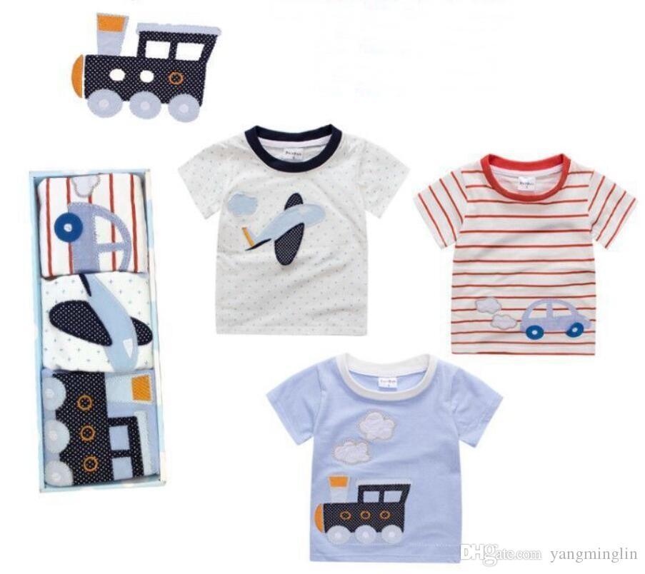 d7906bbc5107 2019 Cartoon Newborn Baby Clothes Set Infant   Kids Clothing High ...