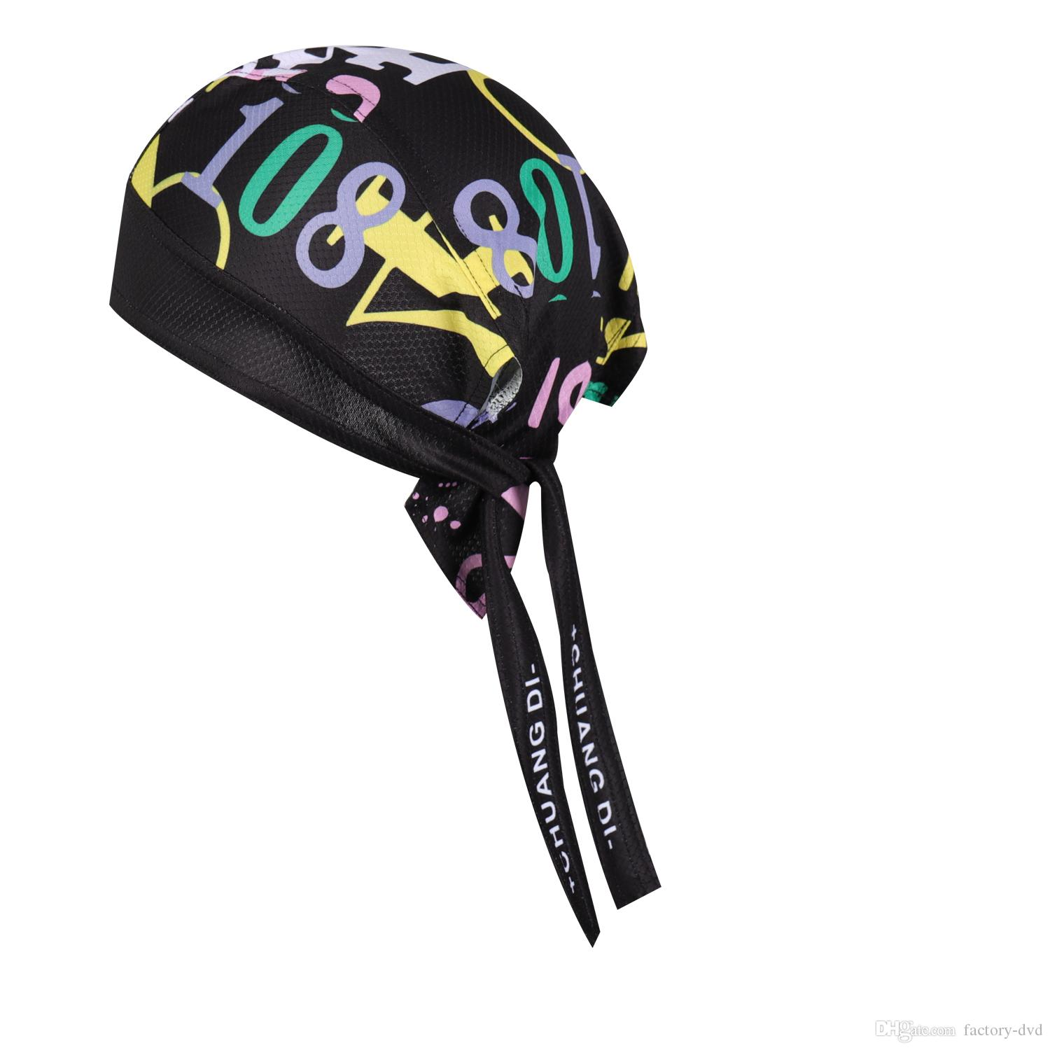 338ad63c 2019 Cycling Head Scarf Bandana Ciclismo Bicycle Cap Sunscreen Headwear  Sweatproof Pirate Hat Bicycle Headband MTB Cycling Caps From Factory Dvd,  ...