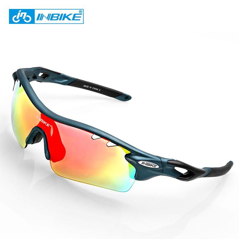 f037910ff9 INBIKE Sport Polarized Ciclismo Gafas 5 Lente Claro MTB Bike Gafas Eyewear  Deporte Al Aire Libre Running Driving Gafas De Sol Hombres Mujeres Por  Sportblue, ...