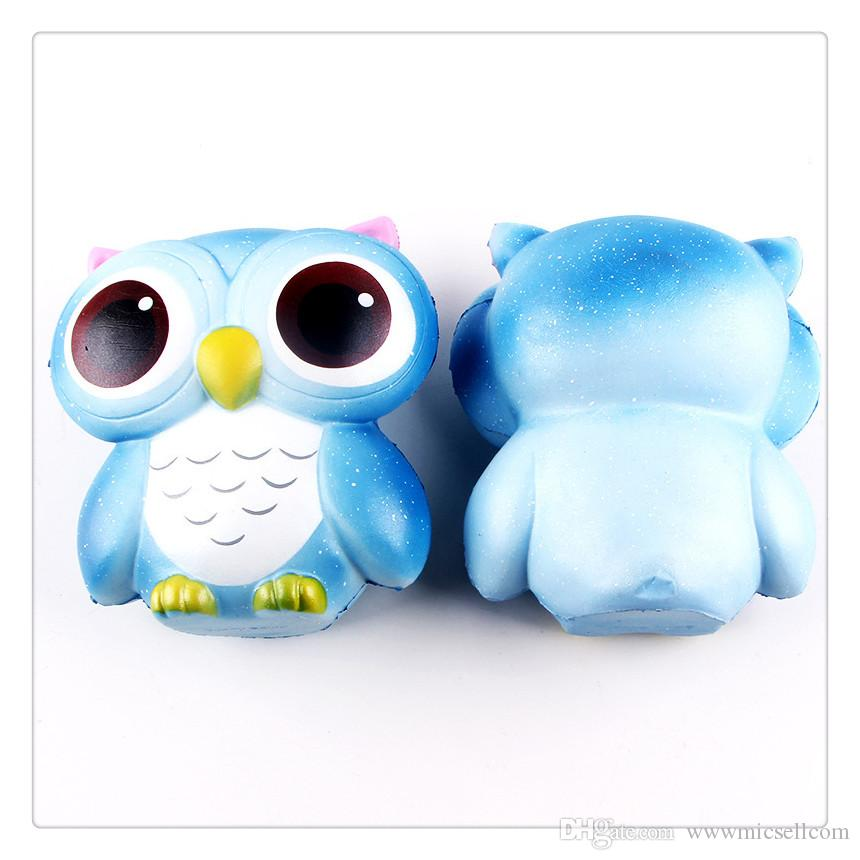 Squishy Slow Rising Jumbo Toy Bun Toys Animales Cute Kawaii Squeeze Cartoon Toy Mini Owl Squishy Moda Animal lindo