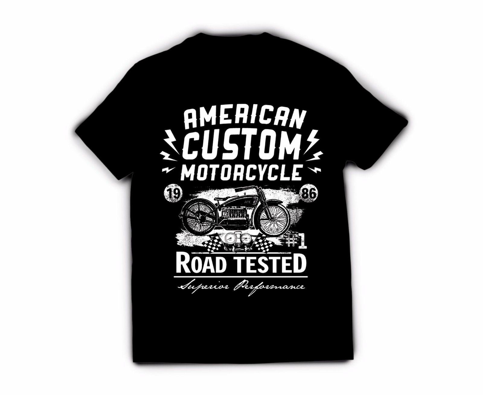 cb6ffbf51 Men'S T Shirt American Custom Motorcycle Design F3 Black Tee Shirt On T  Shirt Hilarious Tee Shirts From Hiphoptshirt, $13.19| DHgate.Com