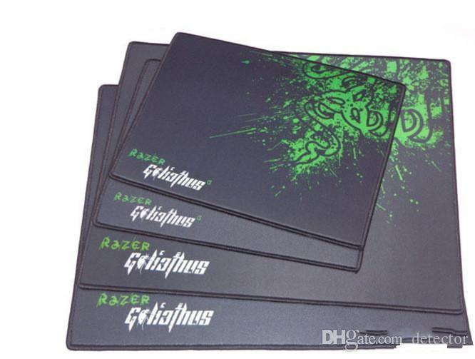 New Razer Goliathus Gaming Mouse Pad 320x240x4mm Locking Edge Mouse Mat Speed Control Version For Dota2 3 CS Mousepad