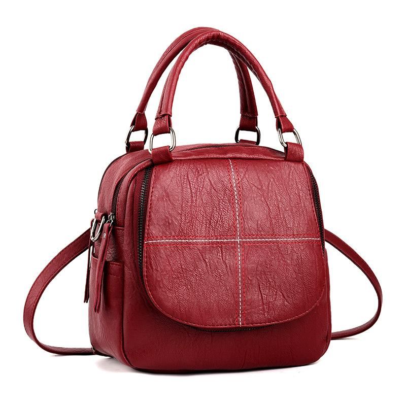6f76c1b619 MONNET CAUTHY New Arrivals Bags For Women Classic Concise Leisure Fashion  Handbags Solid Color Wine Red Yellow Crossbody Totes Travel Backpack Cute  ...