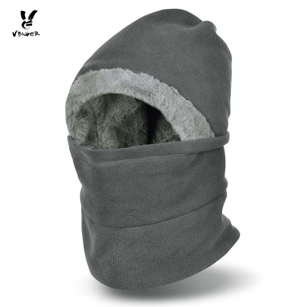 e1aa299c3d1 2019 VBIGER Winter Hat Beanies Windproof Face Cover Mask Neck Warmer  Balaclavas Keep Warm Cap For Men Women From Pekoe