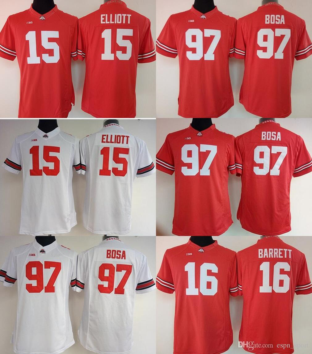 2019 Factory Outlet Womens Ohio State Buckeyes Bosa 97 Elliott 15 735d31ba4
