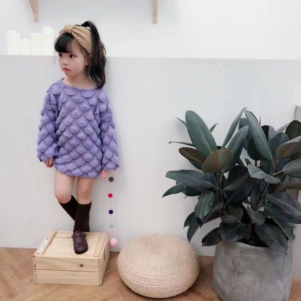 Compre Nuevo Estilo Del Otoño Niños Bebé Moda Suéter, Niñas Lindas ...