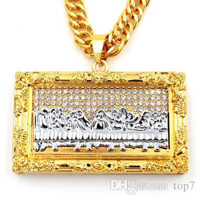 Wholesale 2018 new arrival bible jesus charm pendant leonardo da wholesale 2018 new arrival bible jesus charm pendant leonardo da vinci the last supper necklace rectangle oil painting pendants necklaces mom pendant mozeypictures Image collections