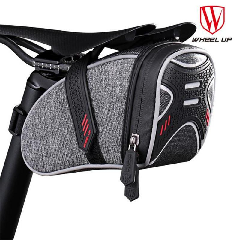 WHEEL UP 2018 Bicycle Bag Rainproof Saddle Bag Reflective Shockproof Cycling Rear Seatpost MTB Bike Accessories