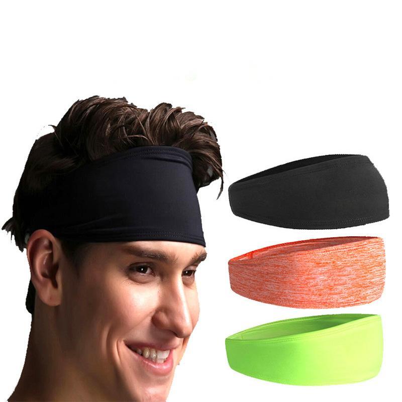 877eac228c8f 2019 2018 Women Men Sport Sweat Band Sweatband Headband Hair Band Yoga  Stretchy Sweatbands Headbands From Emmanue