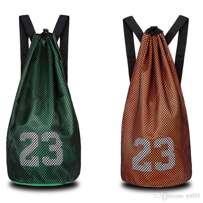 Wholesale & Retail Cheap Sale Hot Basketball Backpack Training Mesh Bag Soccer Shoes Football Boots Sports Bags Pocket Gym Bag