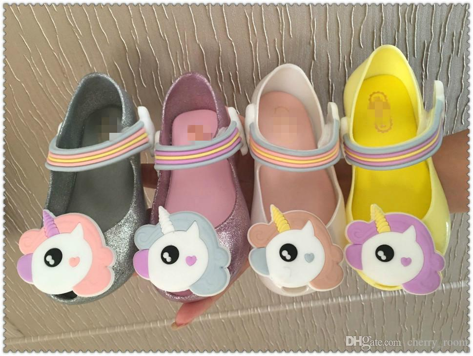 Unicorn Shoes For Girl Girls Sandals
