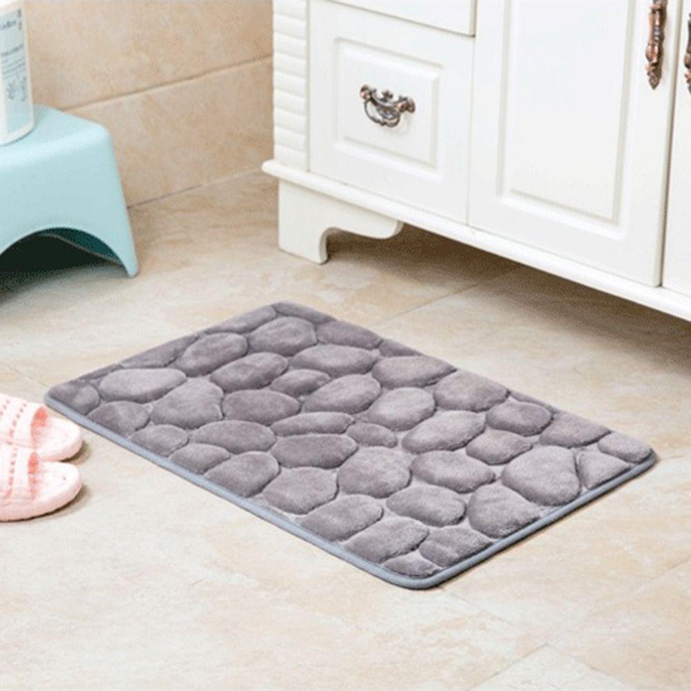 Best Non Slip Flannel Bath Mat Bathroom Carpet Doormat Kitchen Bathroom Car  Seat Soft Breathable Bathroom Toilet Mat Wholesale T Under $4.02 |  Dhgate.Com