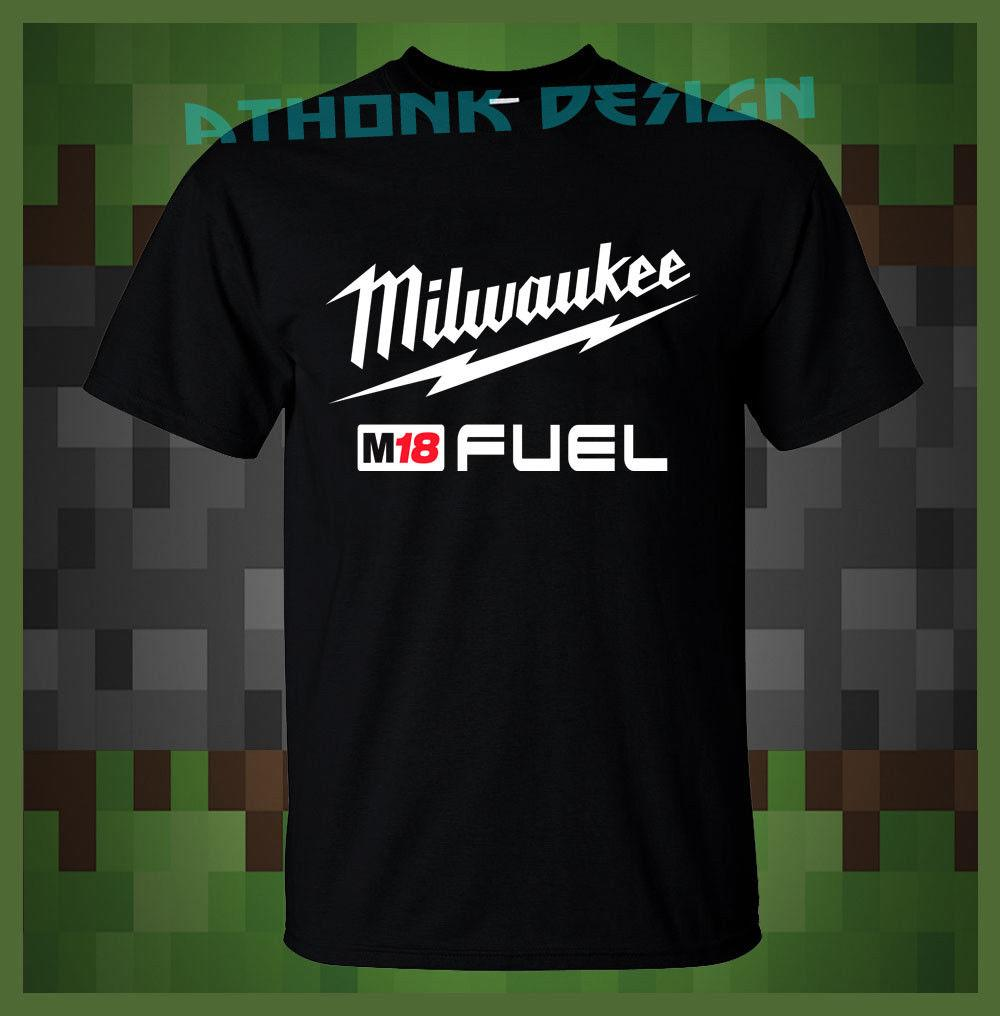 Summer Hot Sale New Tee Print Milwaukee M18 Fuel Power Tool
