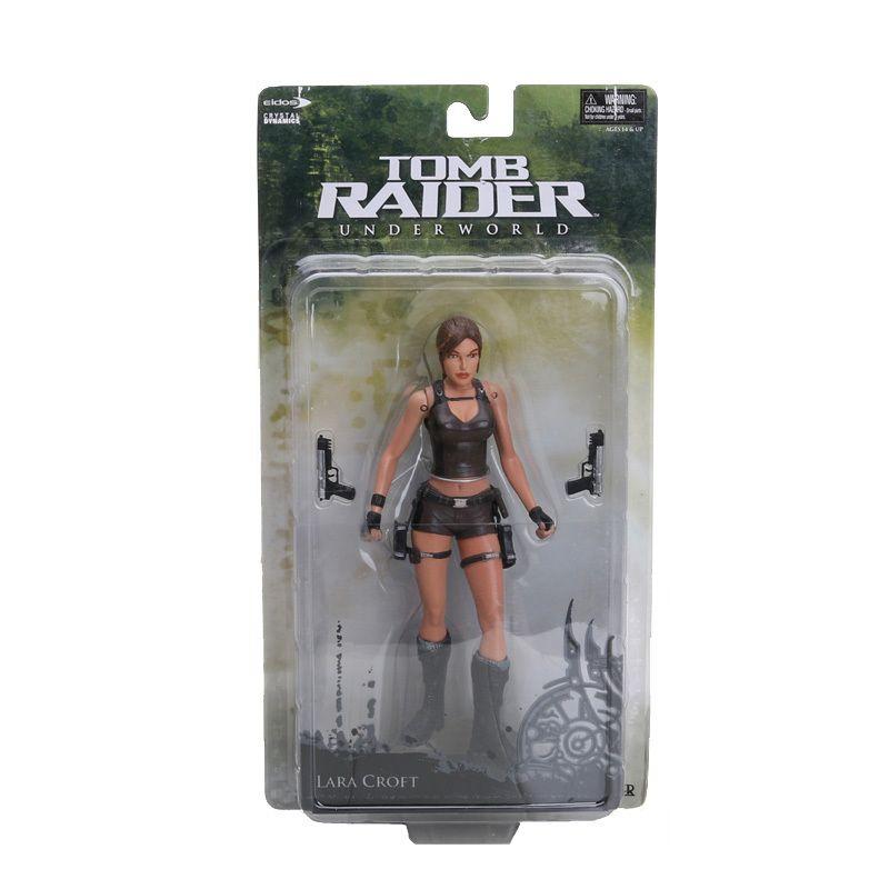 18cm 7 Inch Tomb Raider Underworld Lara Croft Pvc Action Figure New In Box Retail