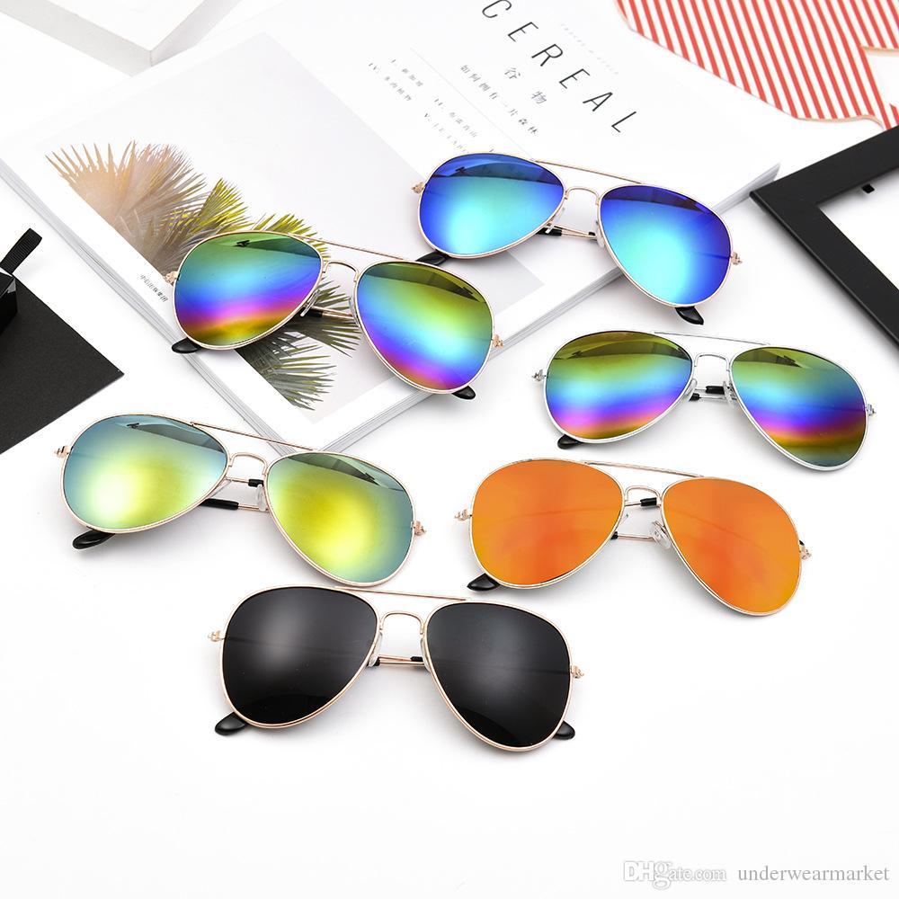377c6be515c2 Polarized Sunglasses Men S Retro Aviator Metal Outdoor Drving Eyewear  Glasses Women S Oversized Mirrored Metal Frame Glasses Sports Sunglasses  Cheap ...