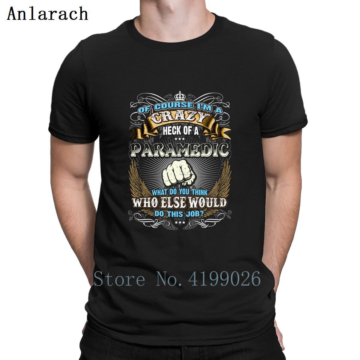 Job Paramedic T Shirt Costume Slim Knitted Sunlight T Shirt For Men