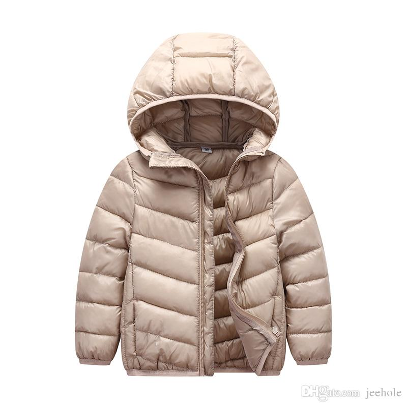 3b578c50118a 2018 Winter Outwear Girls Oblique Quilted Lightweight Jacket For ...