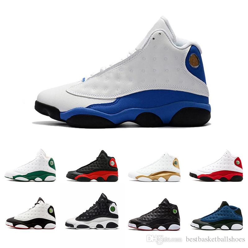 39cec75e8c4 2018 New 13 13s Mens Basketball Shoes He Got Game Phantom Hyper Royal Italy Chicago  Bred DMP Black Cat Sneakers Shoes Size 8 13 East Bay Shoes Shoes Sports ...