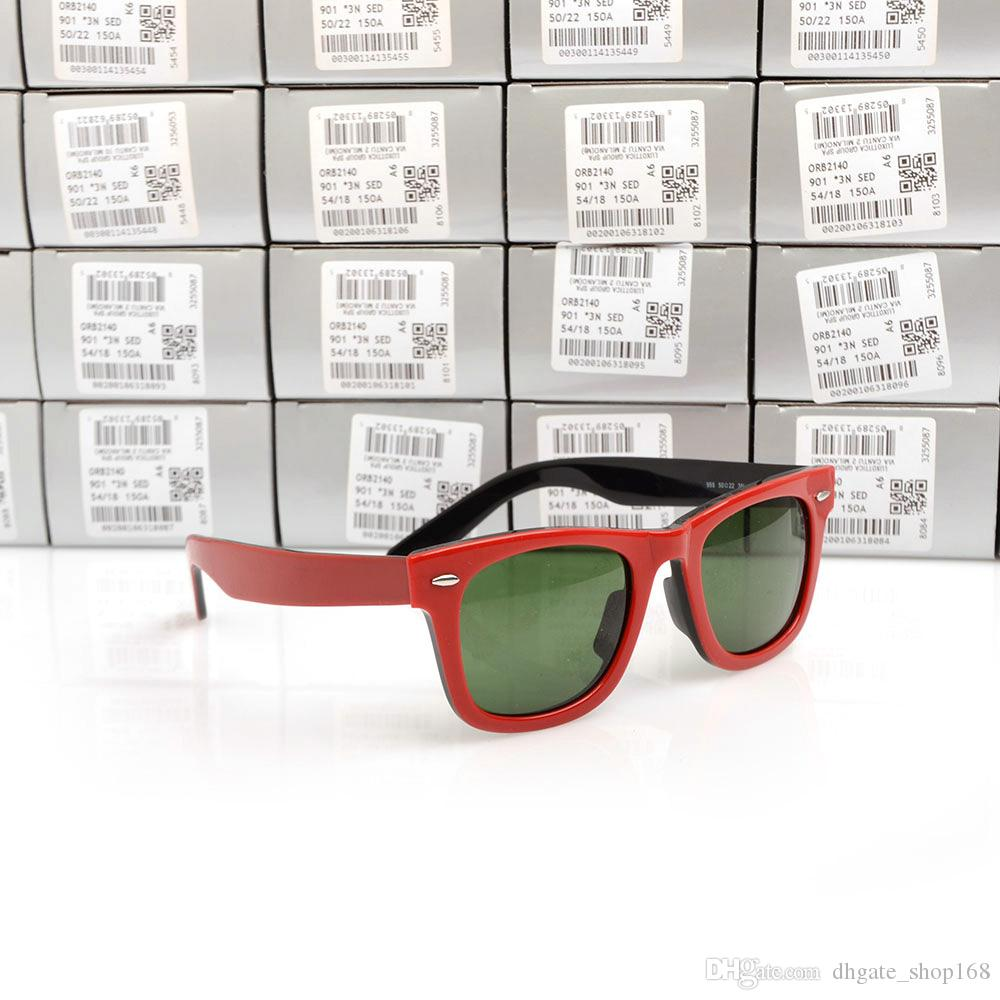 54f485adfcc High Quality 2140 Plank Sun Glasses Red Black Frame Green Lens Sunglasses  Metal Hinge Sunglasses Mens Womens Sunglasses Unisex Sun Glasses Cheap  Eyeglasses ...
