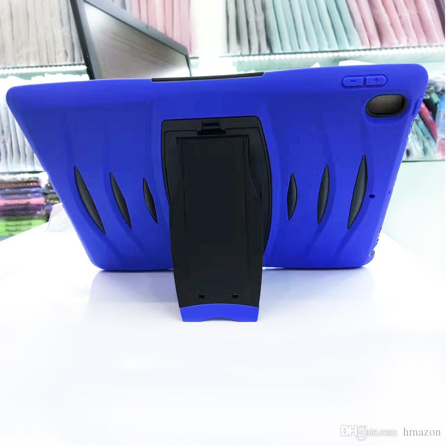 """for Samsung 7 8 9.7"""" 10.1"""" P3200 T110 T116 T230 T330 T280 T350 Military Extreme Heavy Duty Hybrid Shockproof Case TPU Tablet PC stand holder"""