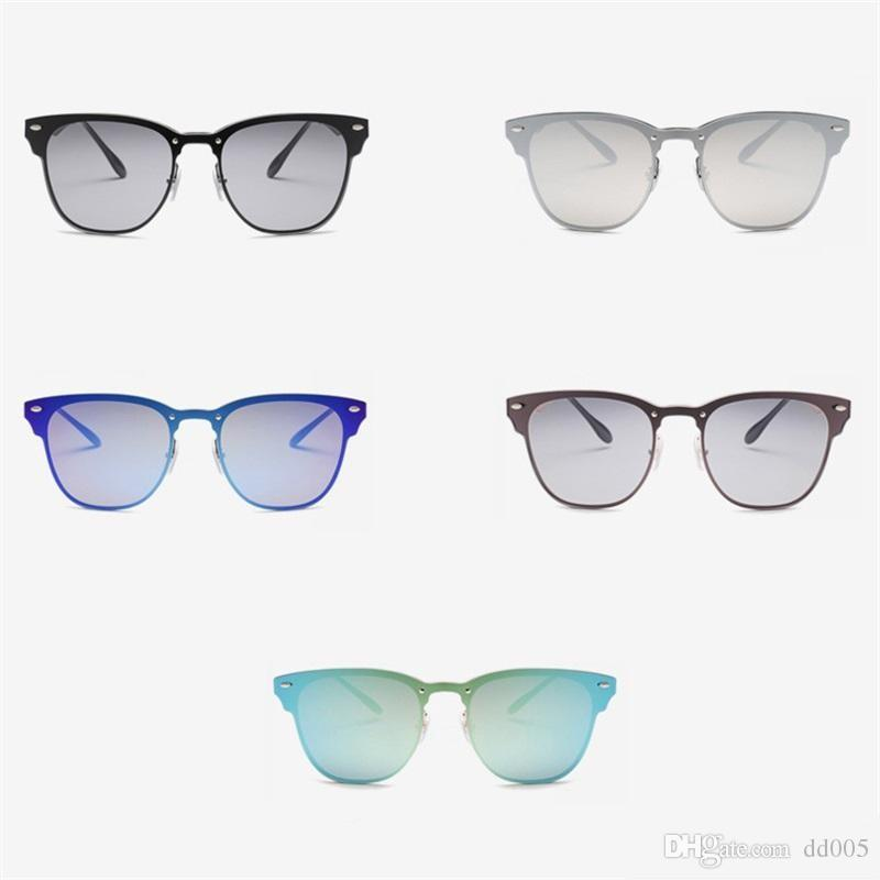 d7e826991a Women Colorful Half Frame Popular Sunglasses Modern Style Sun Glasses Men  Ultraviolet Proof Creative Eyeglasses Protect Eyes 16sq Dd Sunglasses  Online with ...