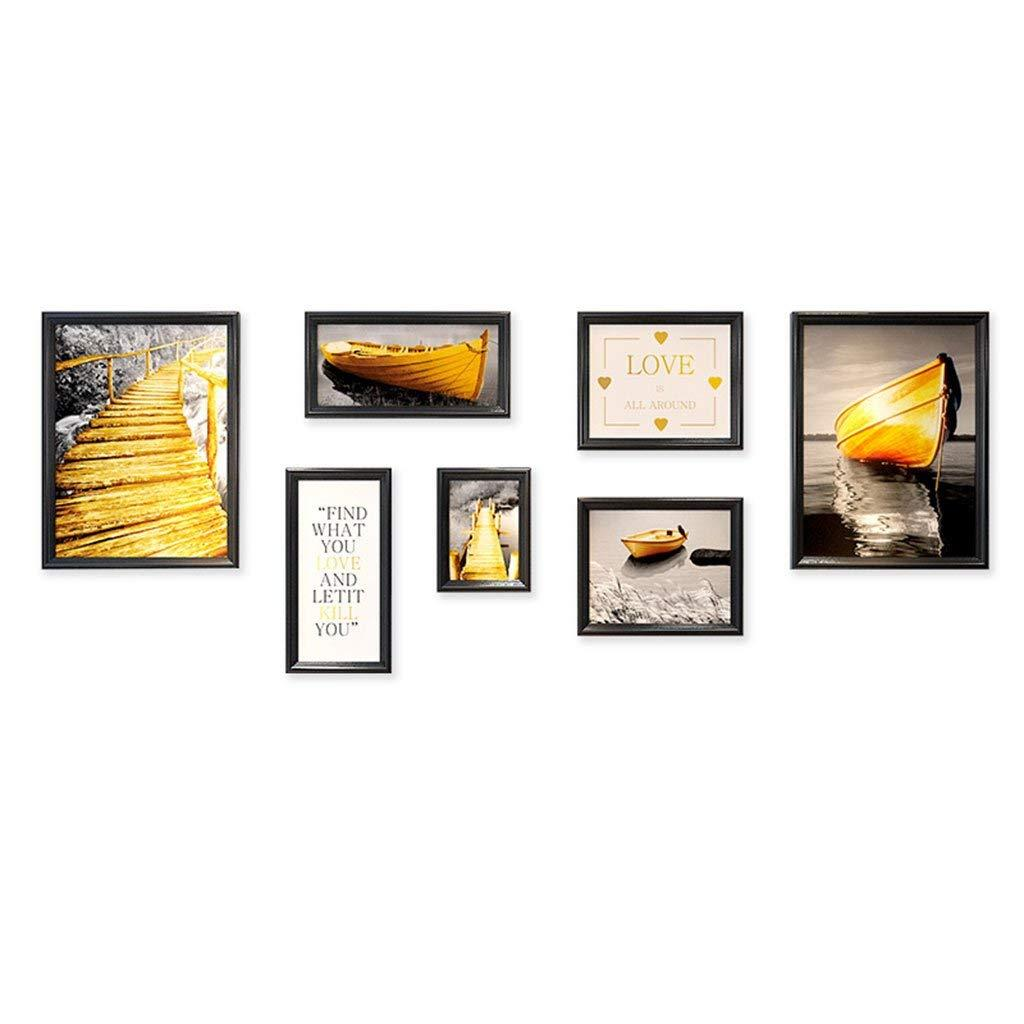 Photo Frame Wall Kit Includes: Art Painting , Hanging Wall Template